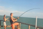 Brandon and Charlene have a double-hookup at the Reddington Long Pier