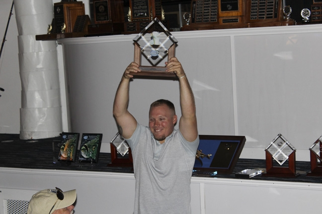 The 4th of July Trophy winner, Ryan M.
