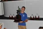Devin M., the Florida Gulf Schools Fishing Club Division winner, with 36 releases